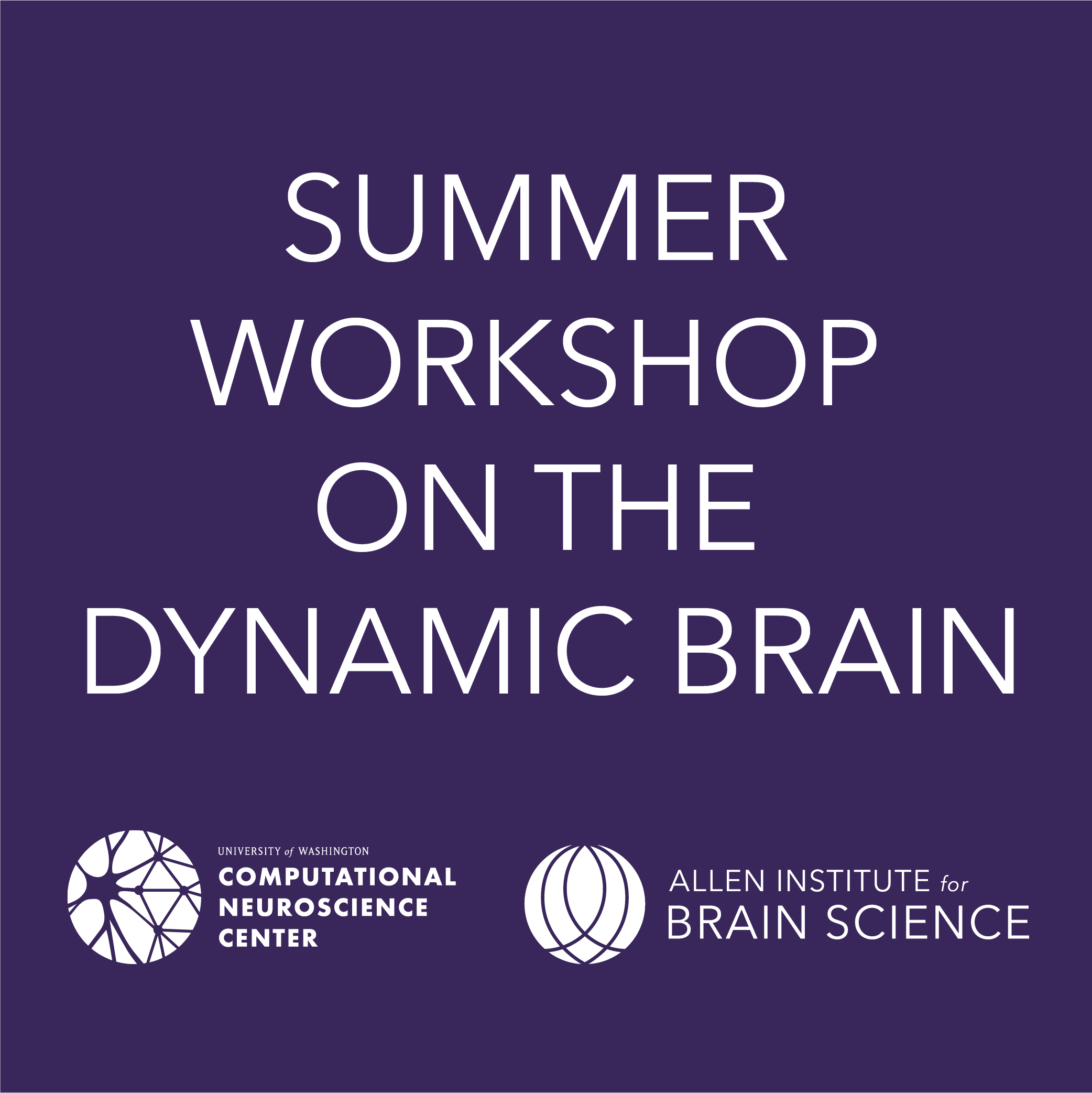 How To Apply Brain Science Of >> Summer Workshop On The Dynamic Brain 2019